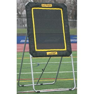 Brine Lacrosse Lax Rebound Self Standing Wall Ball System (3 x 4-Feet, Black)
