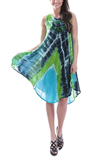 Women's Summer Resort Shift Dress, 142