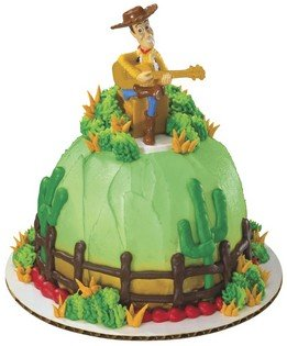 Toy Story Woody Petite Cake Topper Decoration (Woody Cake Pan compare prices)