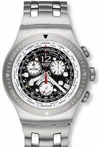 Swatch Men's STYOS414G SS2007 Black Dial Watch