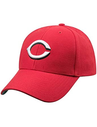 Cincinnati Reds MVP Adjustable Cap by
