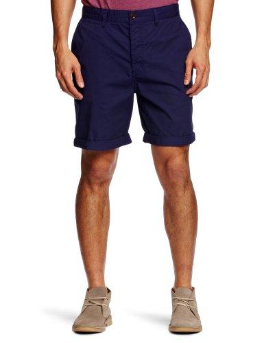 Farah Vintage The Stanton Twill Men's Shorts Dark Indigo W34 IN