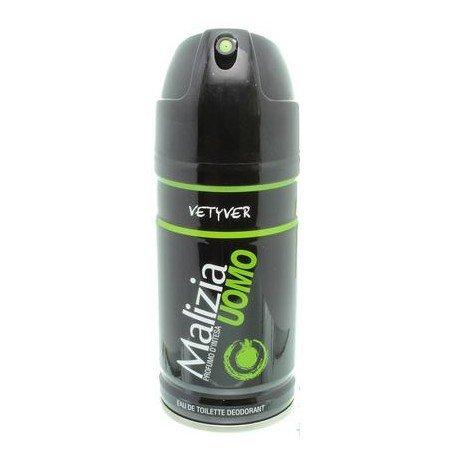 Malizia Deo Spray Uomo Vetyver Ml.150