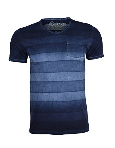 Rass Collection 100% Pima cotton V neck T-Shirt Made in Peru - Men's Tee Shirts MJC5014-NVY-XL (La Made V Pocket Tee compare prices)