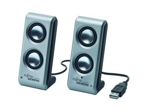 Fujitsu Siemens Mini Speaker Set USB Lautsprecher