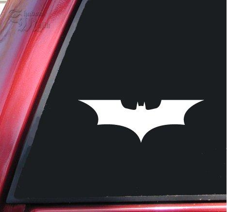 Batman Begins / The Dark Knight Vinyl Decal Sticker - White