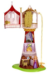 Disney Tangled Featuring Rapunzel Magical Tower Playset