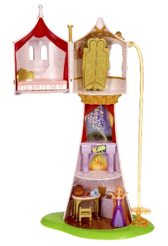 Disney Princess Tangled Rapunzel's Magical Tower