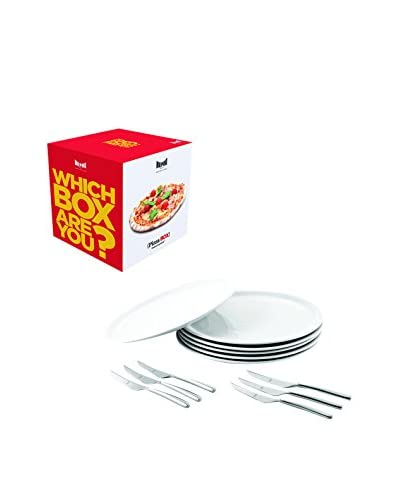 MEPRA 12-Piece Pizza Lover's Pizza Box Gift Set, Stainless Steel