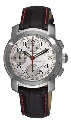 Baume & Mercier Men's 8380 Capeland White Chronograph Dial Watch by Baume & Mercier