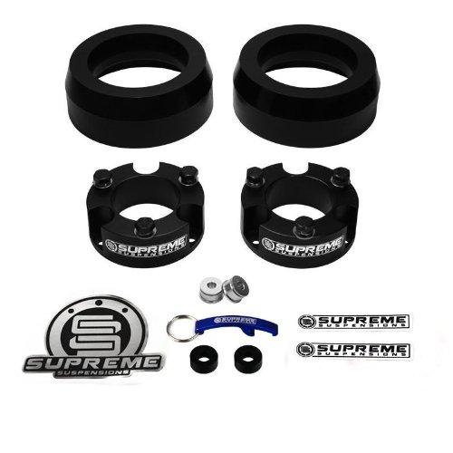 """2010-2014 DODGE RAM 2500 3500 2WD 4WD 4x 2/"""" Billet Wheel Spacer Kit Black"""