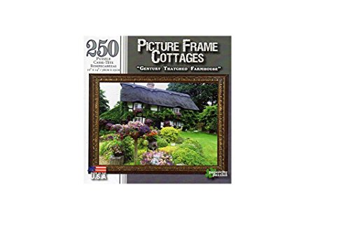 Picture Frame Puzzle Century Thatched Farmhouse - 250 Pc