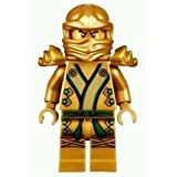 Lego Ninjago 2013 Final Battle Gold Lloyd Garmadon Minifigure