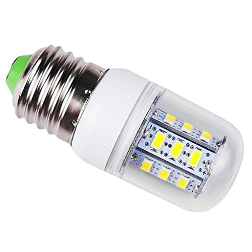 Eyourlife 5W 110V E27 24 Smd 5730 Led Bulbs Corn Bulb With Cover Cool White