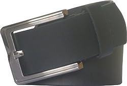Sondagar Arts Men's Belt (SAB80_Black_36)