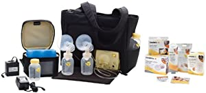 Medela Pump In Style Advanced On-the-go Tote Set w/ FREE ACCESSORIES