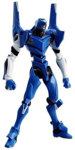 Neon Genesis Evangelion Kaiyodo Revoltech Super Poseable Action Figure Eva Unit-00 (Blue)