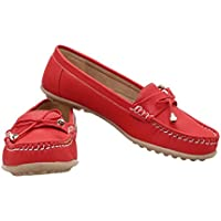 CATBIRD Red Stylish Loafer For Women 517 (36)