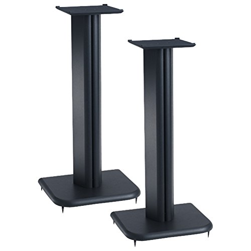 Sanus BF24B 24 Inch Speaker Stands (Pair) (24 Speaker Stands compare prices)