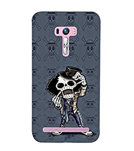 EPICCASE Freeky Skeleton Mobile Back Case Cover For Asus Zenfone Selfie (Designer Case)