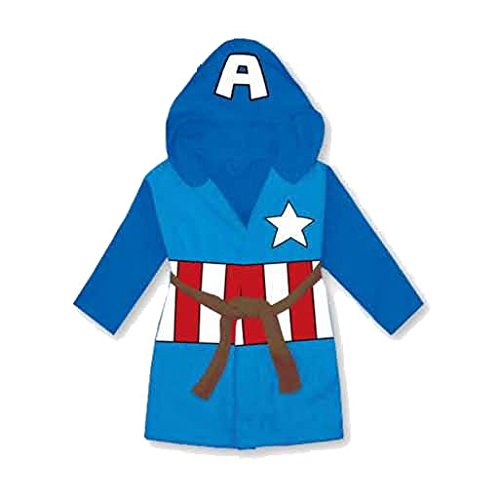 captain-america-enfants-polaire-capuche-peignoir-robe-de-chambre-bleu-6-7-years