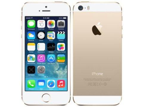 白ロム docomo iPhone5S 64GB ゴールド ME340J/A