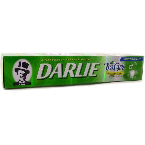 2 X Darlie Tea Care Longjing Green Tea Extract Fluoride Toothpaste 160 G.