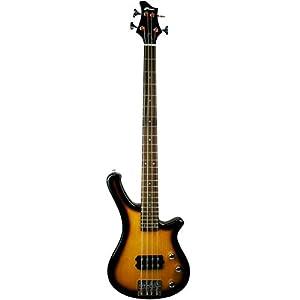 Tiger Sunburst Electric Bass Guitar