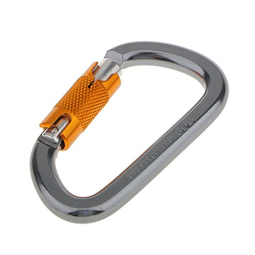 28KN-Mousqueton-dEscalade-Crochet--Verrouillage-en-Alliage-dAluminium-pour-Descente-en-Rappel-Sport-Extrieur
