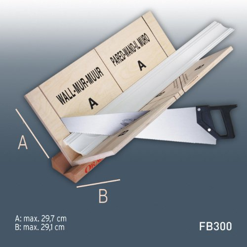 ORAC FB13 special mitre box | miter box for max. using size 29,7 x 29,1 cm (HxW) for mouldings profiles cornices
