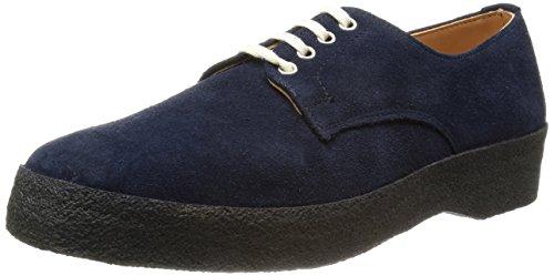 [マークマクナイリー] Mark McNairy Plain Derby Shoe 9073AS Suede Navy(Suede Navy/8)