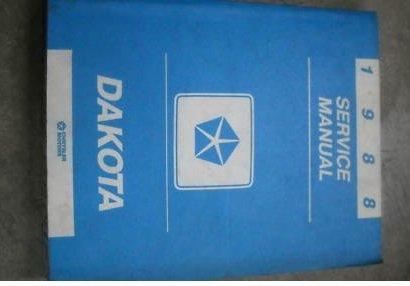 1988-dodge-dakota-truck-service-repair-shop-manual