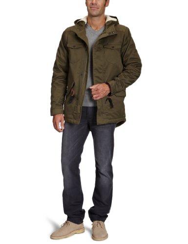 Lee Loco Sherpa Coat Men's Coat Military Green X-Large