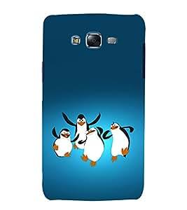printtech Madagascar Penguins Back Case Cover for Samsung Galaxy J7 (2016 EDITION)