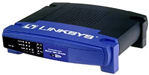 Cisco-Linksys BEFSRU31 EtherFast Cable/DSL Router with USB & 3-Port 10/100 Switch