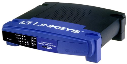 Cisco-Linksys BEFSRU31 EtherFast Cable/DSL Router with USB & 3-Port 10/100 Switch image