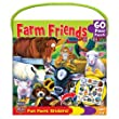 MASTERPIECES 60 PC FARM FRIENDS JIGSAW PUZZLE W/STICKERS