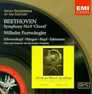 Great Recordings Of The Century - Beethoven: Symphony no 9 / Furtwangler, Schwarzkopf