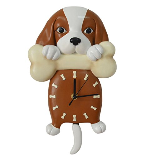Puppy Dog Wall Clock