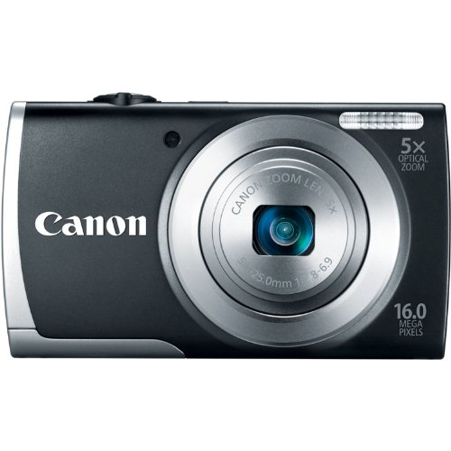 41YY7F5oPBL Canon PowerShot A2500 16MP Digital Camera with 5x Optical Image Stabilized Zoom with 2.7 Inch LCD (Black)