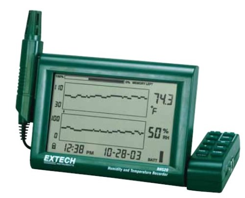 Extech Rh520A-220 Chart Recorder, Humidity & Temp, With 220V Adaptor
