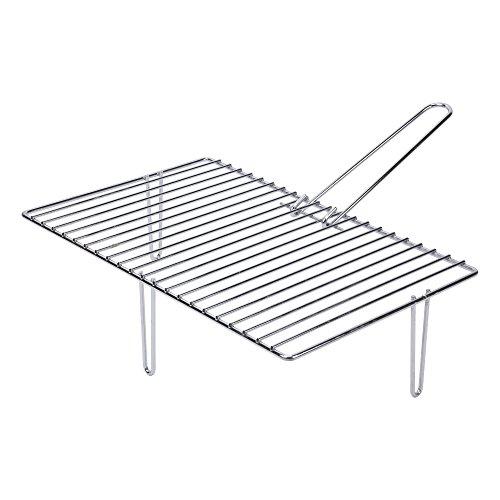 sauvic-02864-grille-pour-la-cheminee-avec-3-pieds-acier-466-x-28-x-12-cm
