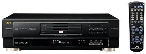 Jvc Xvm50Bk 3-Disc Triple Tray Dvd Player, Black