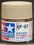 タミヤカラー アクリルミニ XF-57 バフ つや消し