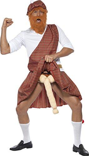 smiffys-well-hung-highlander-costume-hat-beard-top-sash-kilt-sporran-socks-and-endowment-red