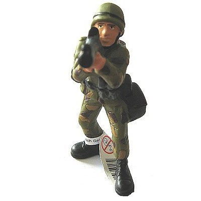 Bullyland - Bazooka Soldier Figurine - French version