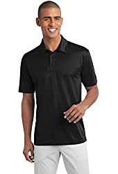 Men's Big & Tall Short Sleeve Moisture Wicking Silk Touch Polo Shirt