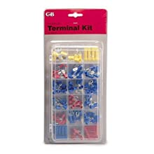 GB TK-175 Electrical Solderless Terminal Kit, 175-Piece