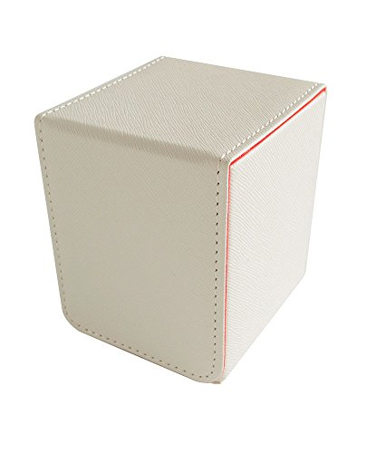 Dex Protection - Small Magnetic Flip Deck Box - Creation: Carte Blanche (White) - 1