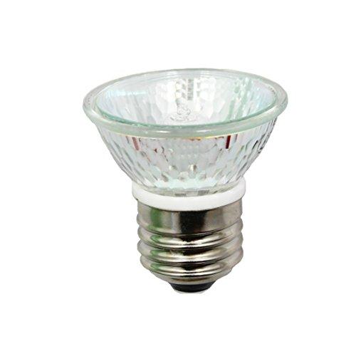 Anyray A1878Y (3-Bulbs) Hr16 120V 50W E26 Mr-16 50 Watts Par16 Par16 Jdr C Halogen Bulb Lamp Exn Flood With Lens